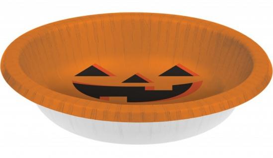 8 Halloween Kürbis Schalen
