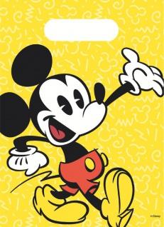 6 Party Tüten Micky Maus Retro