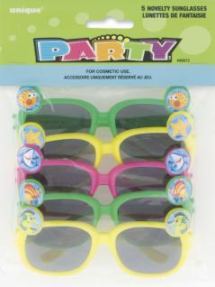 5 Kinder Brillen Haifisch Freunde - Vorschau 1