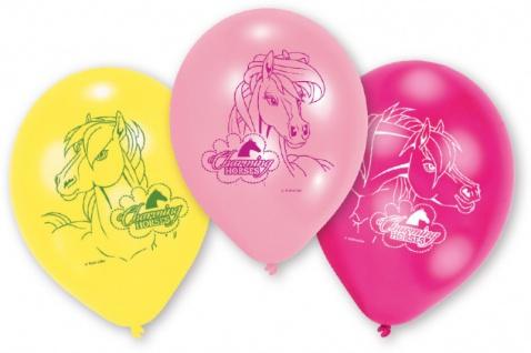 6 Pferde Ballons Charming Horses