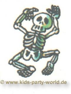 Mini Tattoo Skelett