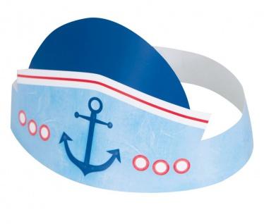 6 Party Hütchen 1. Geburtstag Maritim am Meer