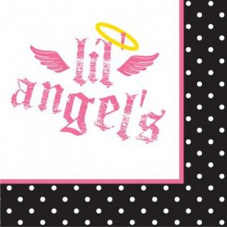 16 kleine Erster Geburtstag Angel Servietten