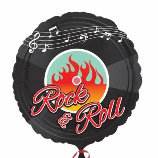 Folienballon 50er Jahre Rock'n Roll Motto Party
