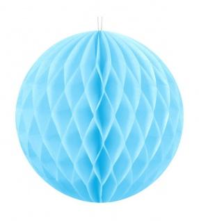 Wabenball Hellblau 30 cm