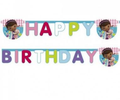 Doc McStuffins Geburtstags Girlande