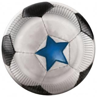 32 Teile Fußball Champion Party Deko Set für 8 Personen - Vorschau 2
