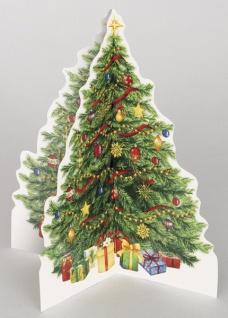 Weihnachtsbaum Tischdeko