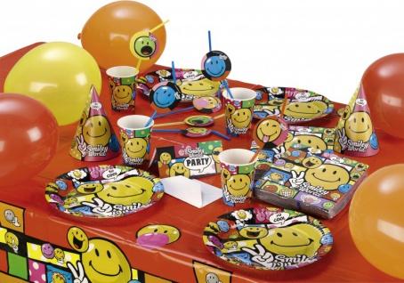 Smiley Geburtstags Girlande - Vorschau 2