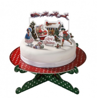 Torten Dekoset Weihnachtsmann