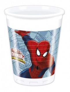 36 Teile Spiderman Web Warriors Party Deko Set für 8 Kinder - Vorschau 3