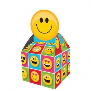 8 Geschenk Boxen aus Karton Emoticons