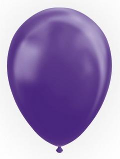 10 Luftballons in Violett Metallic 30cm