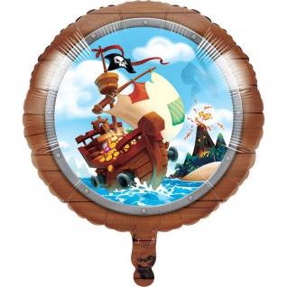 Folien Ballon Piraten auf der Schatzsuche