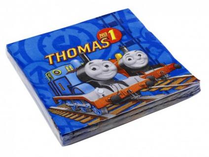 20 Servietten Thomas Eisenbahn