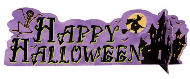 Halloween Geisterhaus Tischaufsteller