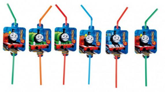 8 Trinkhalme Thomas Eisenbahn