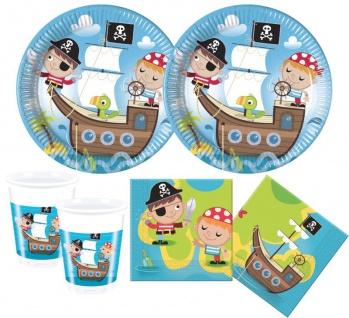 6 Party Hütchen Piraten Kinder - Vorschau 2