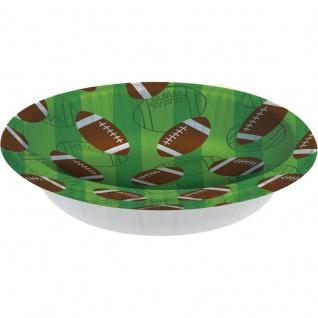 8 American Football Superbowl Schalen