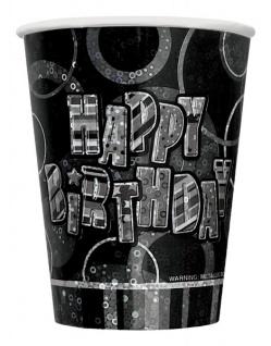 48 Teile zum 30. Geburtstag Party Set in Schwarz für 16 Personen - Vorschau 4
