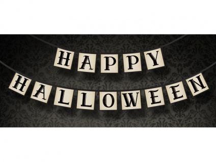 Happy Halloween Girlande am Satinband - Vorschau 2