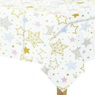 XXL 51 Teile Dritter Geburtstag Deko Set Twinkle little Star in Rosa und Gold 8 Personen 3. Geburtstag - Vorschau 3