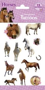 1 Bogen Pferde Kinder Tattoos