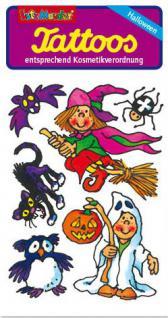 Kinder Tattoo kleine Hexe