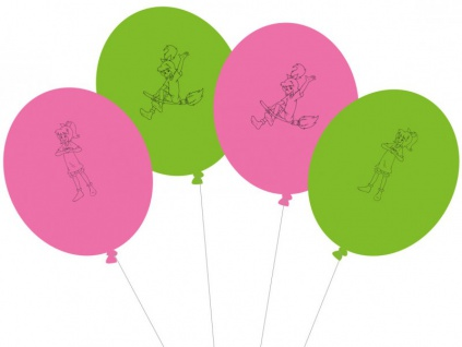 8 Luftballons Bibi Blocksberg