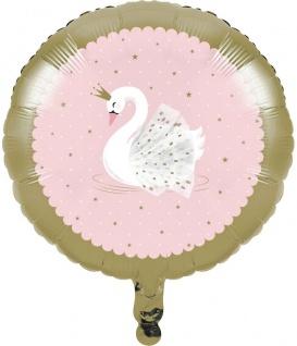 Folien Ballon bezaubernder Schwan