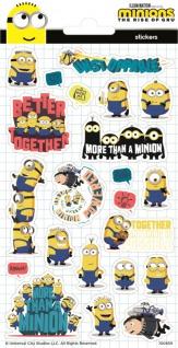 1 Bogen Minions Papier Sticker