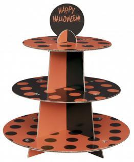 muffin etagere schwarz orange punkte kaufen bei kids party world. Black Bedroom Furniture Sets. Home Design Ideas