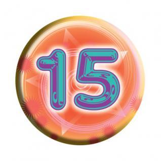 Geburtstags Button 15