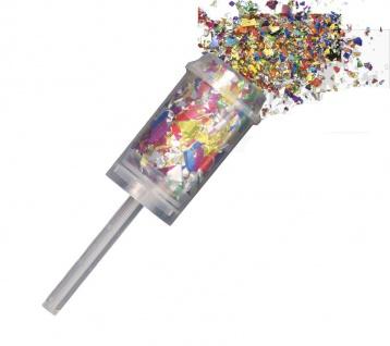 Konfetti Push Popper Mix bunt
