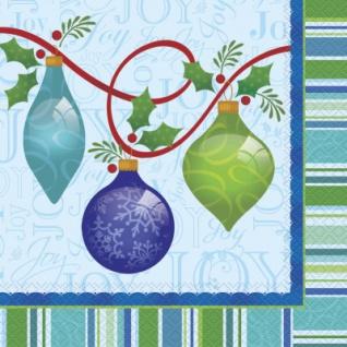 20 Servietten Weihnachts Ornamente