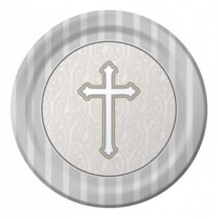 8 Papp Teller Kreuz