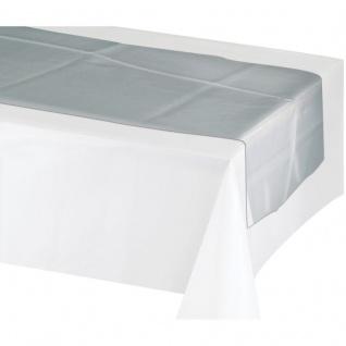 Tischläufer Silber Metallic