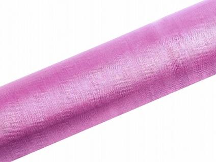 Organza Tischläufer Rosa 0, 16 x 9m