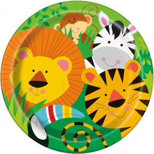 8 Teller Kinder Safari