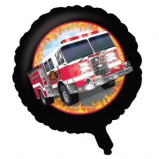 Feuerwehr Alarm Folien Ballon