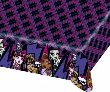 Plastik Tischdecke Monster High 2 - Vorschau