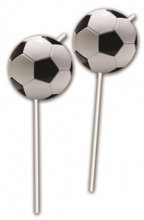 6 Trinkhalme Fußball