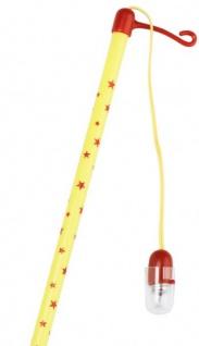 Elektrischer Laternenstab Gelb mit Sternchen - Vorschau 2