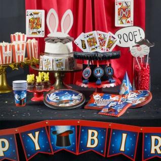 16 Servietten Magier und Zauberer - Vorschau 3