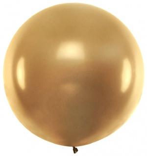 XXL Mega Luftballon in Gold Metallic 1, 8 Meter Durchmesser