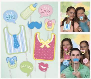 Foto und Selfie Set Baby Party