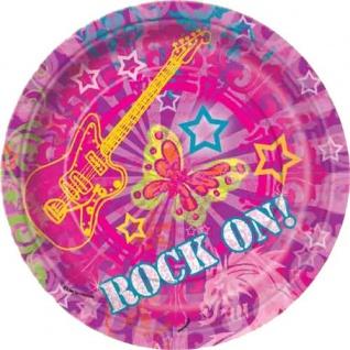 Rock On Party kleine Teller