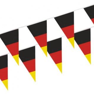Deutschland Wimpel Kette