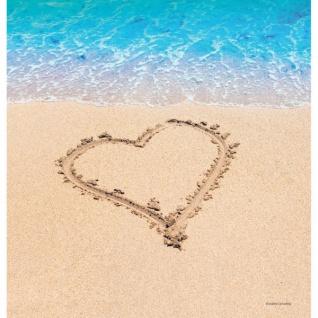 Plastik Tischdecke Beach Love