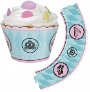 12 Muffin Wraps Prinzessin